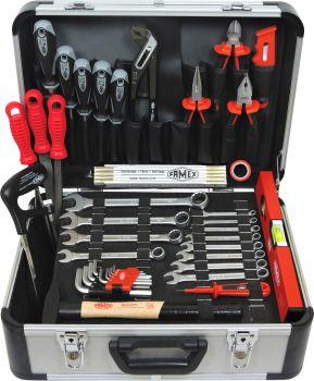 FAMEX 729-92 Werkzeugkoffer mit Werkzeugbestückung,  Top Qualität