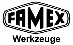 Famex Werkzeuge, Werkzeuge, Werkzeugkoffer, Werkzeugkasten, Steckschlüssel, Steckschlüsselsatz, Knarrenkasten, Ratsche, Alukoffer, Universal Werkzeugkoffer, Werkzeugsets, Drehmomentschlüssel, Handwerkzeuge, Werkzeugwagen, Schraubenschlüssel, Schraubendreher, Bits-Logo
