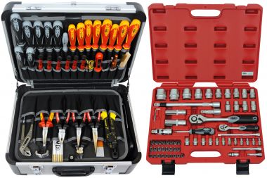 FAMEX 418-20 Universal Tool Kit with Socket Set