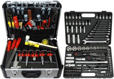 FAMEX 419-44 Tool Set with Socket set, 174-/ Total 214-pcs.