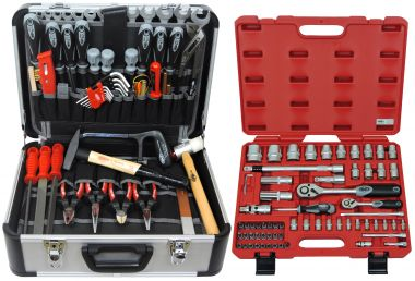 FAMEX 420-21 Universal Tool Kit with Socket-Set