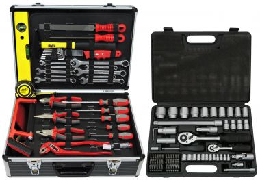 FAMEX 744-51 Universal Tool Kit with Socket Set