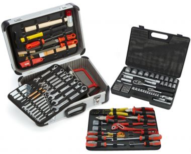 FAMEX 723-51 Universal Tool Kit, 129-/ Total 170-pcs.