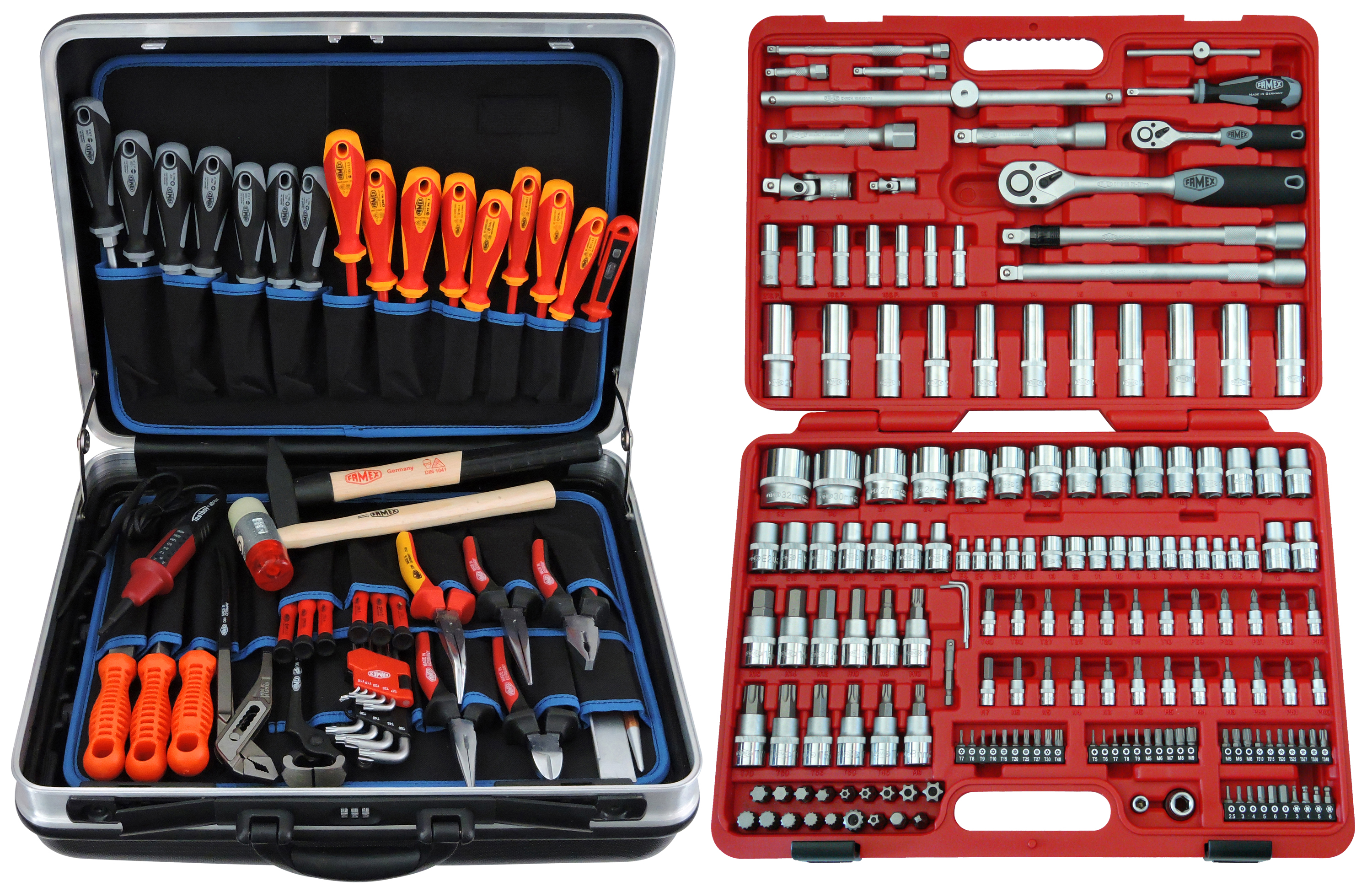 Famex 594/40/Socket Wrench Bit Set with 72/Teeth Mini 47/Pieces